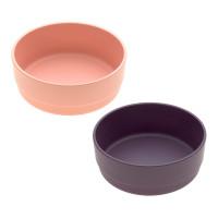 Schälchen im Set (2 Stk) - Bowl, Peach - Plum