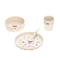 Kindergeschirr Set - Dish Set, Garden Explorer Schnecke