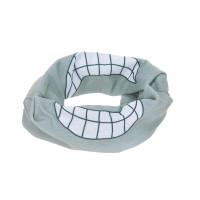 Multifunktionstuch Flexi-Loop Kinder, Smile Grey