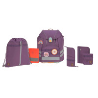 Schulranzen Set 7-teilig, Unique Purple