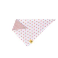 Dreieckstuch Baby Bandana Muslin, Little Chums Stars Light Pink