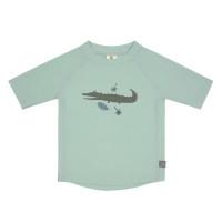 UV Shirt Kinder - Kurzarm Rashguard, Crocodile Mint