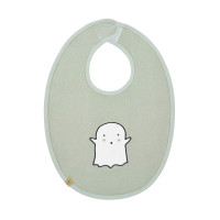 Lätzchen - Bib Waterproof Medium, Little Spookies Olive