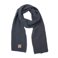 Stillschal - Muslin Nursing Scarf, Navy