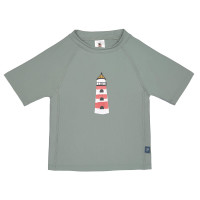 UV-Shirt Kinder - Short Sleeve Rashguard, Lighthouse