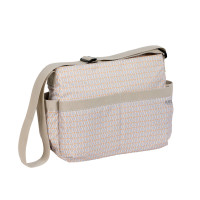 Wickeltasche Marv Shoulder Bag , Mesh Beige