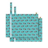 Nasstasche (2 Stk) - Wet Bag, Wildlife Meerkat