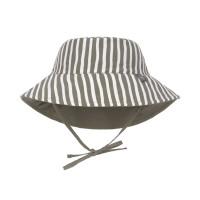 Sonnenhut Kinder - UV Schutz Bucket Hat, Stripes Olive