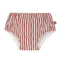 Schwimmwindel - Swim Diaper, Stripes Red