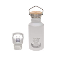 Kinder Trinkflasche Edelstahl - Bottle, Adventure Grey