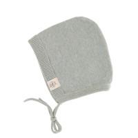 Baby Mütze - Knitted Cap GOTS, Garden Explorer Aqua Grey