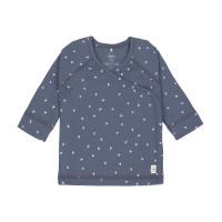 Baby Wickelhemd - Kimono, Triangle Blue