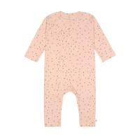 Baby Schlafanzug GOTS - Pyjama Cozy Colors, Dots Powder Pink