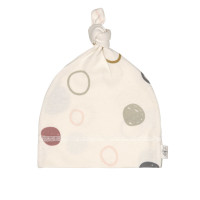 Babymütze GOTS - Beanie Cozy Colors, Circles Offwhite