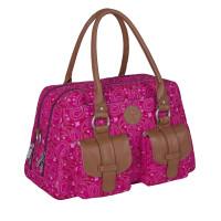 Wickeltasche - Metro Bag, Paisley pink