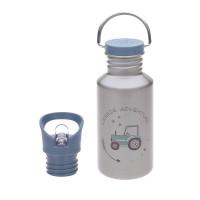 Kinder Trinkflasche Edelstahl - Bottle, Adventure Traktor