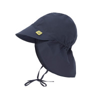 Kinder Sonnenhut - Sun Protection Flap Hat Navy