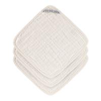 Waschlappen aus Mull (3 Stk) - Muslin Washcloth, Milky