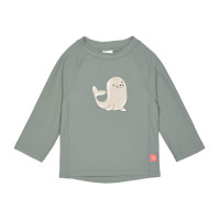 UV-Shirt Kinder - Long Sleeve Rashguard, Seal Green