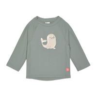 UV-Shirt Kinder - Long Sleeve Rashguard, Seal Green