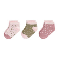 Kinder Sneaker Socken (3er-Pack) -  Socks, Cinnamon