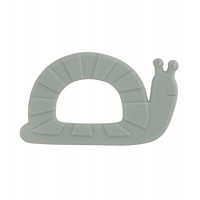 Baby Silikon-Beißring - Teether, Garden Explorer Snail