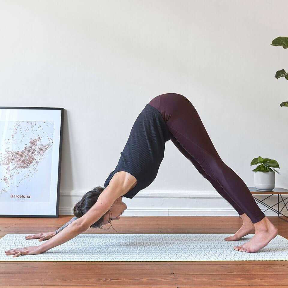 LAESSIG-Yoga-Asana-herabschauender-Hund-Anleitung-zum-Mitmachen