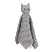 Schnuffeltuch - Baby Comforter GOTS, Little Chums Cat