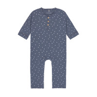 Strampler - Baby Overall, Triangle Blue