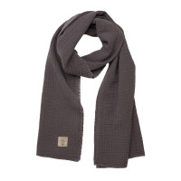 Stillschal - Muslin Nursing Scarf, Anthracite