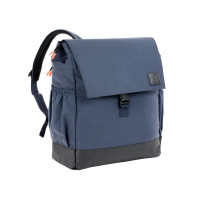 Wickelrucksack - Little One & Me Backpack reflective Big, Navy