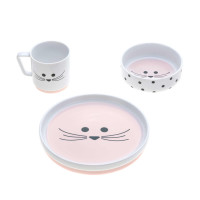 Kindergeschirr Set Porzellan - Dish Set, Little Chums Mouse
