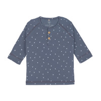 Baby Langarmshirt, Triangle Blue