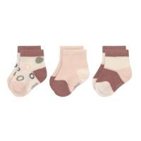 Kinder Sneaker Socken (3er-Pack) GOTS -  Socks Cozy Colors, Offwhite