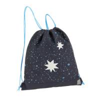 Turnbeutel - Mini String Bag, Magic Bliss blue