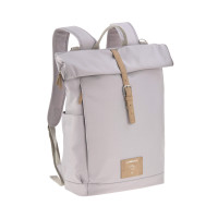 Wickelrucksack - Rolltop Backpack, Grey
