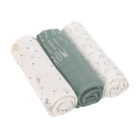 Mulltücher (3 Stk) - Heavenly Soft Swaddle L, Garden Explorer Traktor