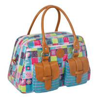 Wickeltasche Metro Bag, Flower Quilt