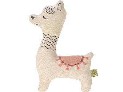 LAESSIG-Tipps-Babyspielzeug-Rassel-Kollektion-Glama-Lama