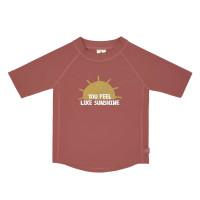 UV Shirt Kinder - Kurzarm Rashguard, Sunshine Rosewood