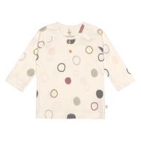 Baby Langarmshirts GOTS - Cozy Colors, Circles Offwhite