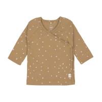Baby Wickelhemd - Kimono, Dots Curry