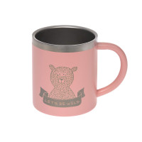 Kindertasse Edelstahl (Isoliert) - Cup, Adventure Rose