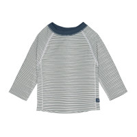 UV-Shirt Kinder - Long Sleeve Rashguard, Striped Blue