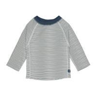 UV-Shirt Kinder - Long Sleeve Rashguard, Striped Blue