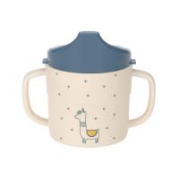 Trinklernbecher - Sippy Cup, Glama Lama blue