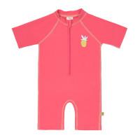 Kinder Schwimmanzug - Short Sleeve Sunsuit, Pineapple