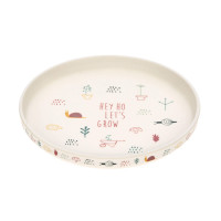 Kinderteller - Plate, Garden Explorer Schnecke