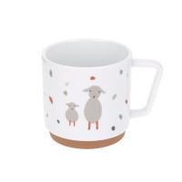 Kindertasse Porzellan, Tiny Farmer Schaf & Gans
