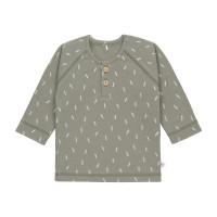 Baby Langarmshirts GOTS - Cozy Colors, Speckles Olive